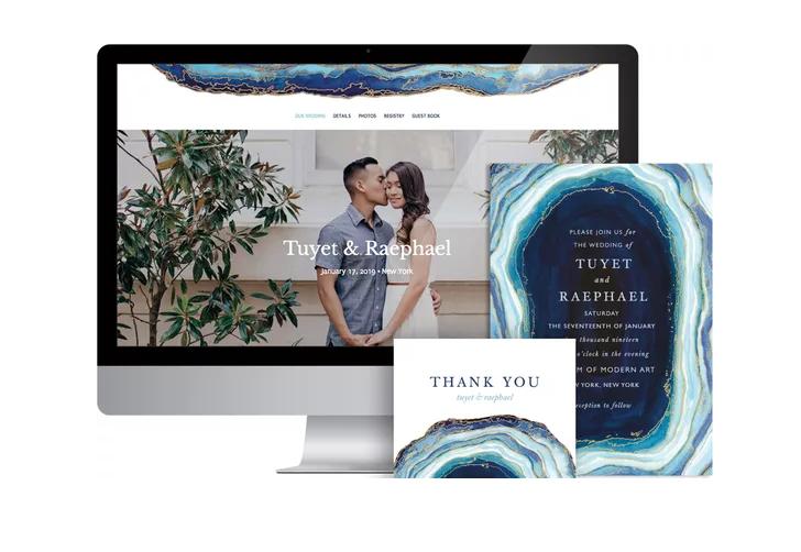 The Knot Wedding website builder