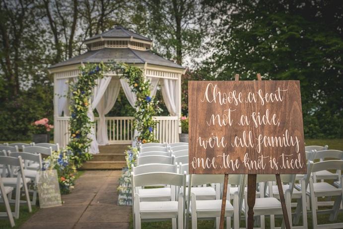 Summer wedding North West