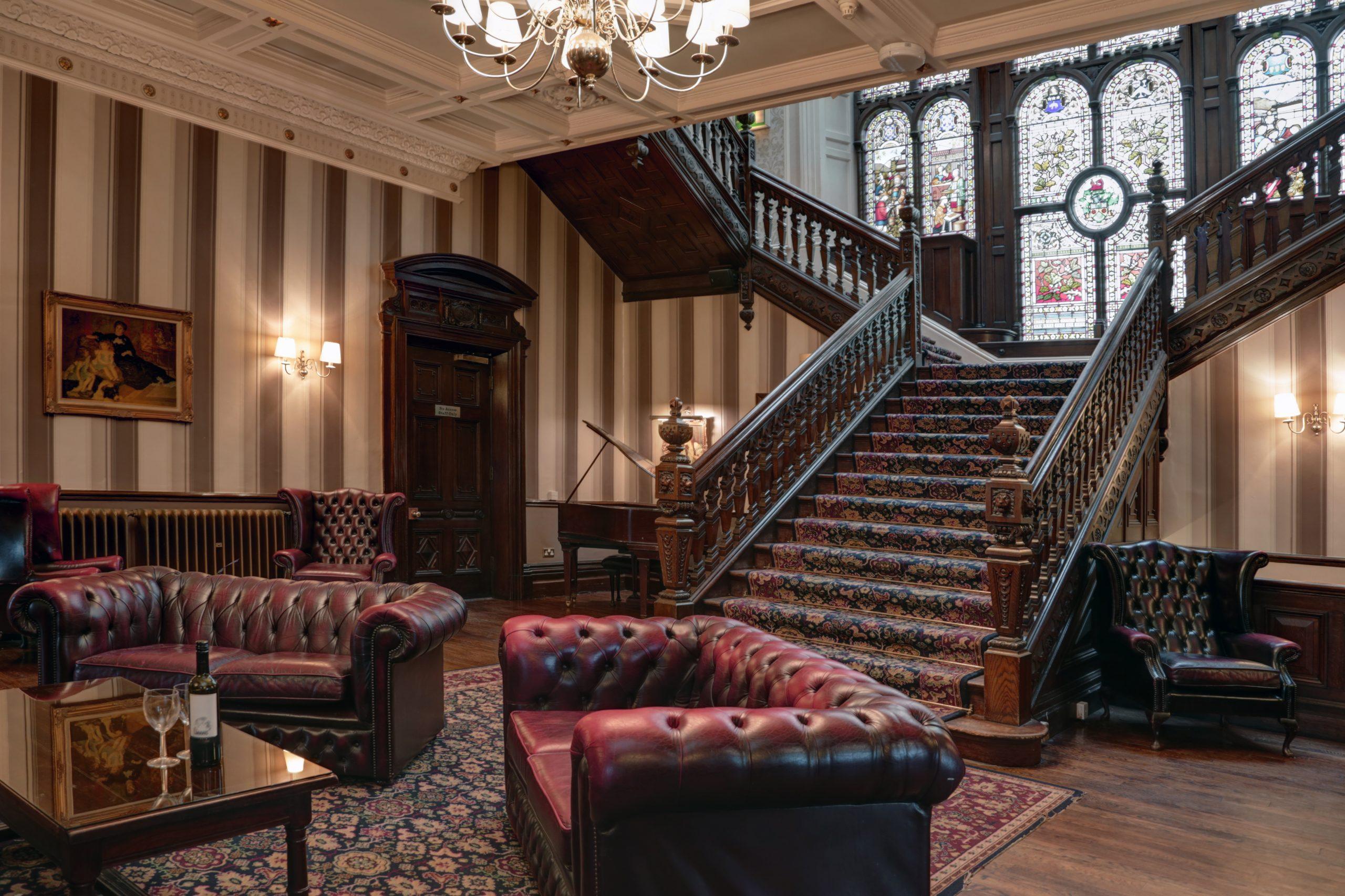 The Oaks grand hallway